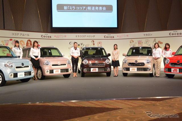 Daihatsu industrial new ミラココア presentation