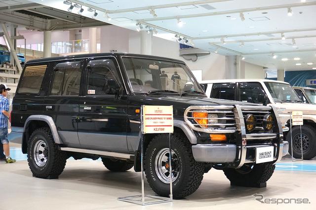 Toyota 70 series land cruiser Prado