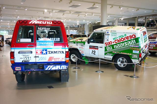 Toyota Land Cruiser 70 rally car