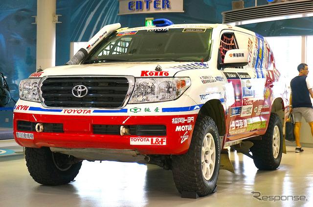 200 series Landcruiser Dakar rally specifications