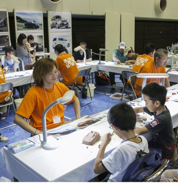 """2013 TES Festival ' come on! Children's engineers (clay model making experience) """""""