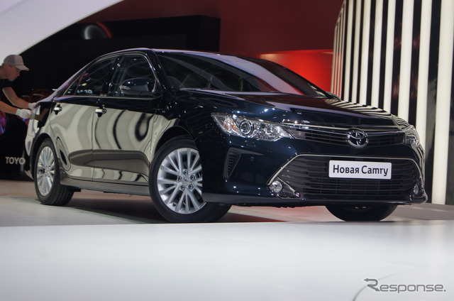 Toyota Camry (2014 Moscow Motor Show)