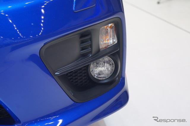 Subaru WRX STI new rally specs (Moscow Motor Show 14)