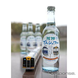 "Hanshin electric railway original cider ' Hanshin den-Shi """