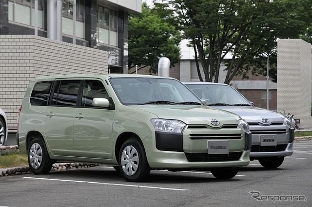 Toyota probox and succeed