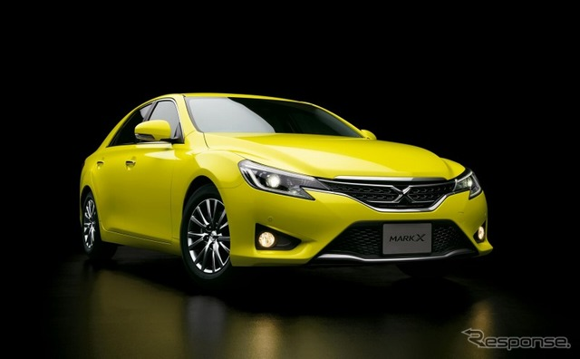 Toyota mark X 250G S package-yellow label