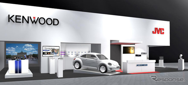 JVC Kenwood booth image