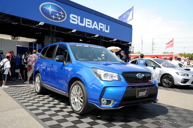 Subaru Forester tS STI concept