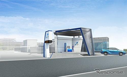 Nagoya Atsuta hydrogen station