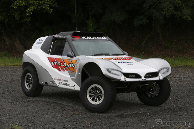 Original SUV to race in the Baja 1000