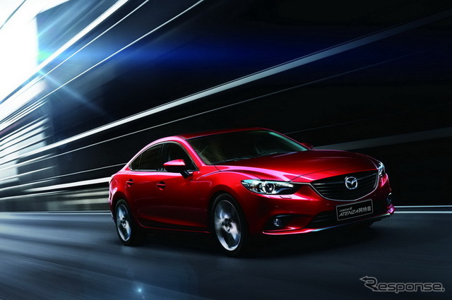 New Mazda Atenza Chinese specifications