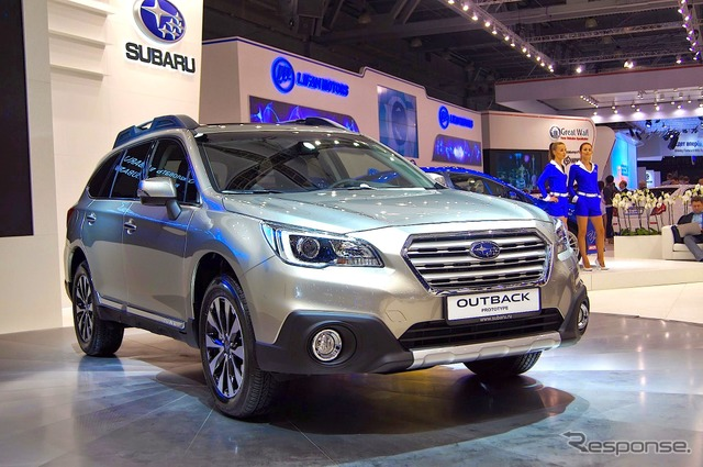 Subaru Outback (2014 Moscow Motor Show)