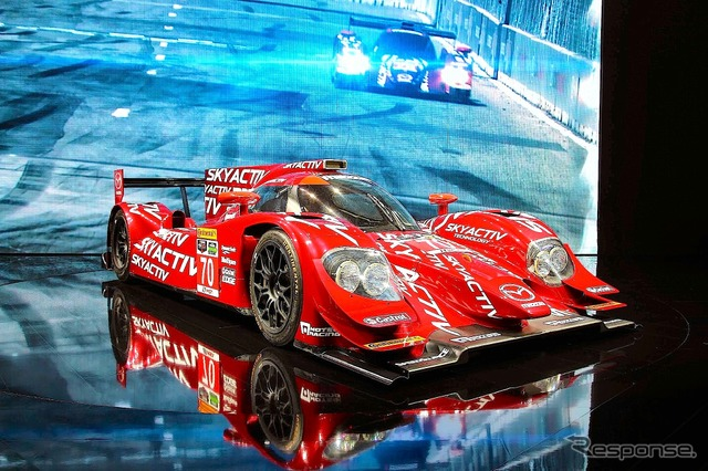 Mazda's SKYACTIV Racer (2014 Moscow Motor Show)