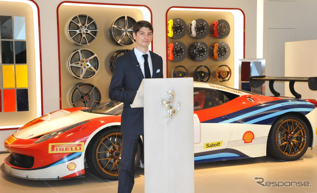 Ferrari Japan, President of Reno デパオリ