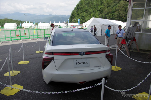 Toyota FCV (2014 Hakuba EV/PHV Wonderland)
