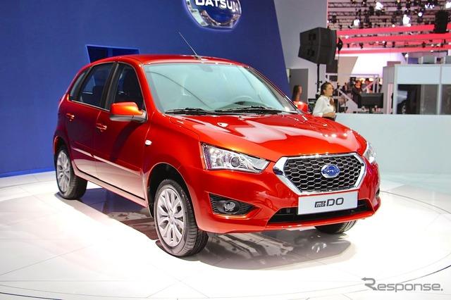 Datsun mi-DO (2014 Moscow Motor Show)