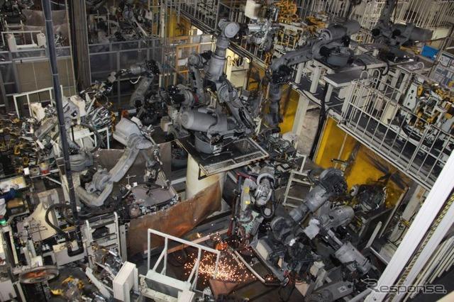 Subaru Gunma yajima plant
