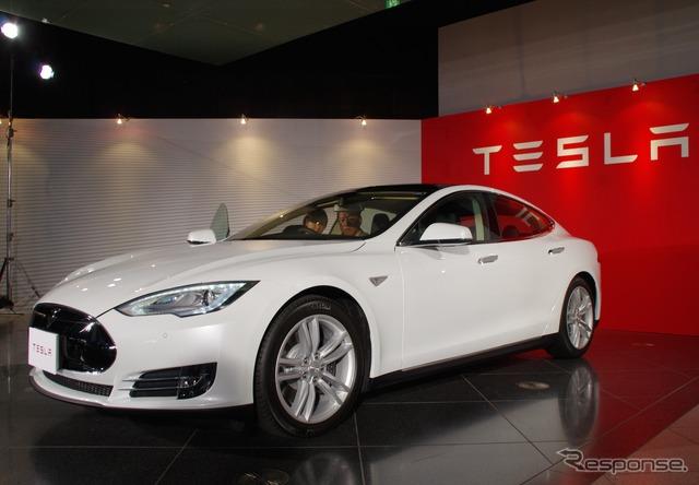 Tesla model S Japan spec
