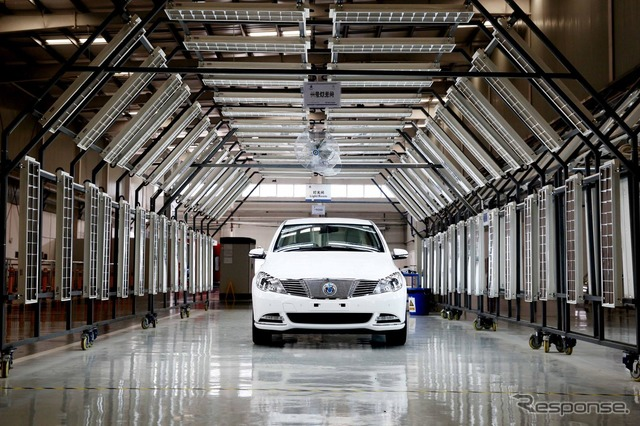 EV Danza started production in China