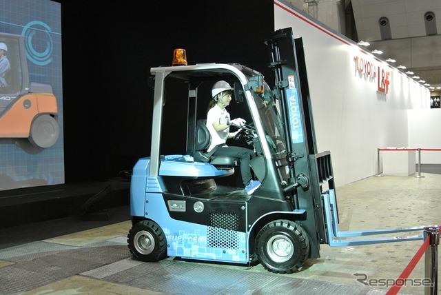听到未来燃料电池叉车丰田叉升降机全球市场份额在国际 & 一般