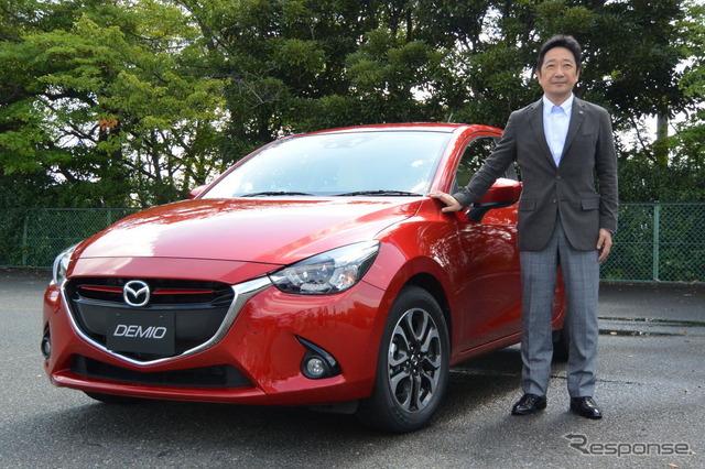 New Mazda Demio Development In-Charge, Chief Engineer Ayumu Doi