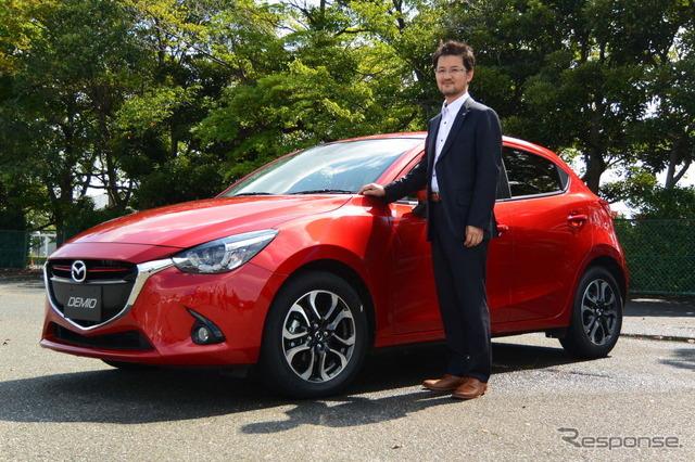 Ryo Yanagisawa, the chief designer from the design headquarters of Mazda