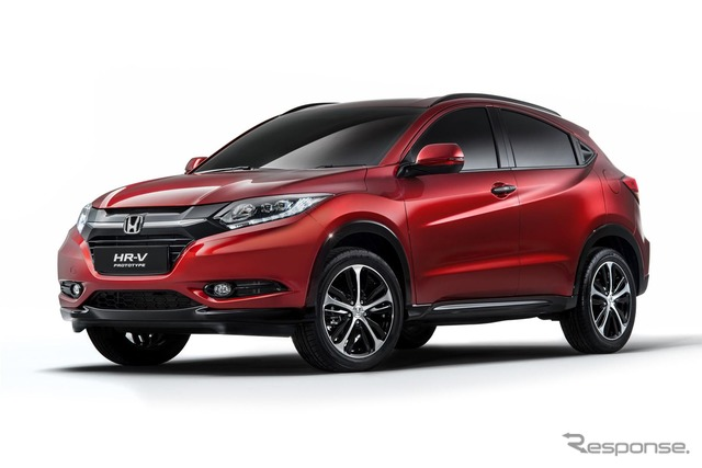 The Honda HR-V (Vezel) prototype