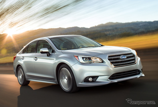 The all-new Subaru Legacy (North American model)