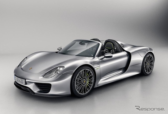 Porsche 918 recalled by spiders, United States. Control arm is a possibility