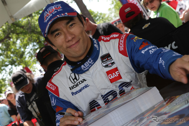 Determined by the formula E Qatar participation from Takuma Sato finished the season in Indianapolis and ngamring agri ( photos are this season's IndyCar Series race at )