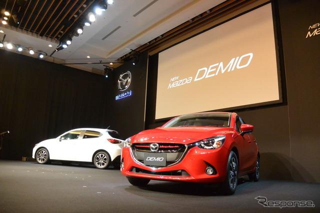 New Mazda Demio Presentation