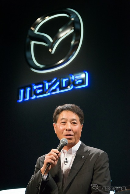 Mazda's President Masamichi Kogai