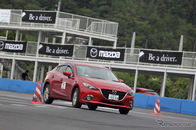 Be a driver. Mazda driving Academy