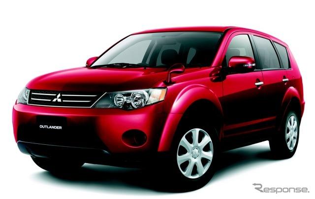 Mitsubishi Outlander predecessor model (reference image).