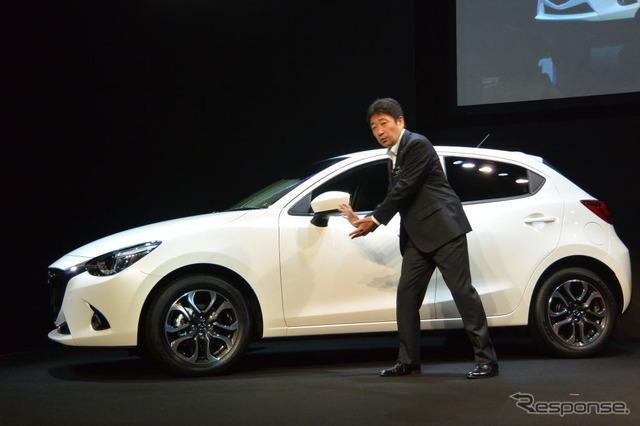 New Mazda Mazda2 presentation
