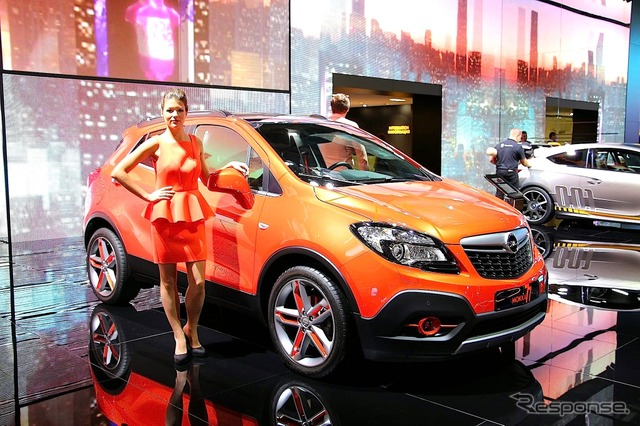 Opel-mokka Moscow Edition (Moscow Motor Show 14)