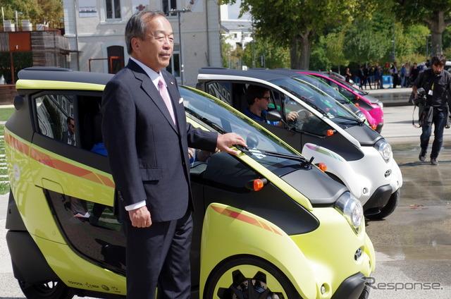 Uchiyamada Takeshi Chairman of Toyota Motor Corp.