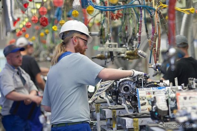 The engine production plant of Toyota Motor Industries Poland (TMIP)