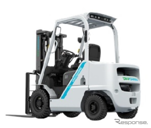 Completely revised unicarriers, diesel engine powered forklift trucks, introduce new 'FOZE'