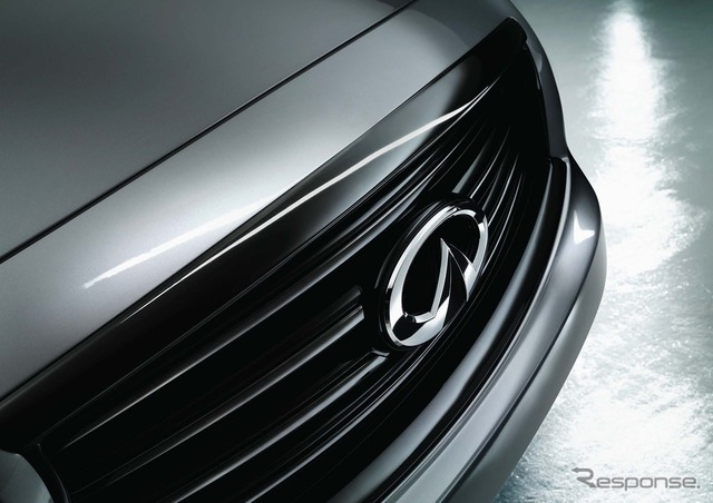 Teaser image of the Infiniti QX70 S Design
