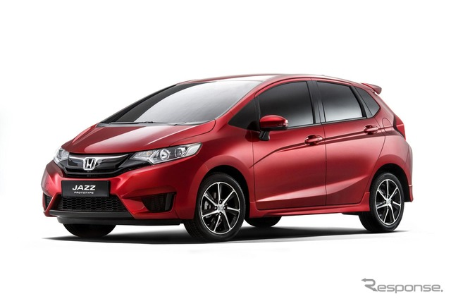 Prototype model of the all-new Honda Jazz (Fit)