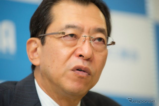 Japan Automobile Manufacturers Association, the pond, Fumihiko Chairman Chairman of Honda