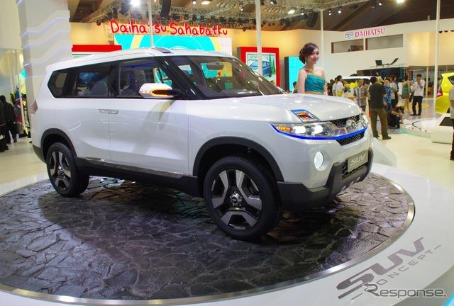 Daihatsu's SUV concept (2014 Jakarta Motor Show)