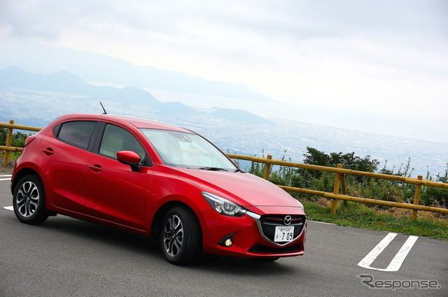 Mazda Demio XD touring L package (diesel)