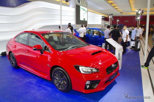 Subaru unveils new WRX and WRX STI (Jakarta Motor Show 14)
