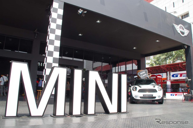 MINI booth exhibition vehicle is sold out! (Jakarta Motor Show 14)