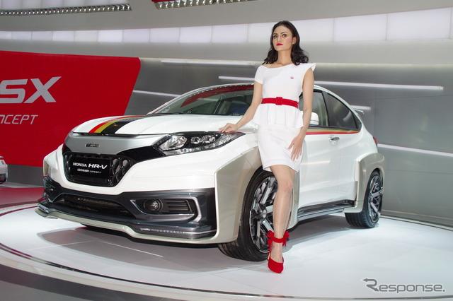 Honda HR-v infinite concepts (Jakarta Motor Show 14)