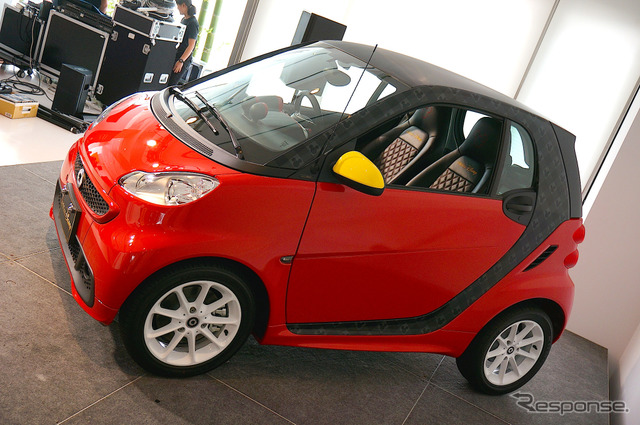 Smart Fortwo electric drive Edition Disney