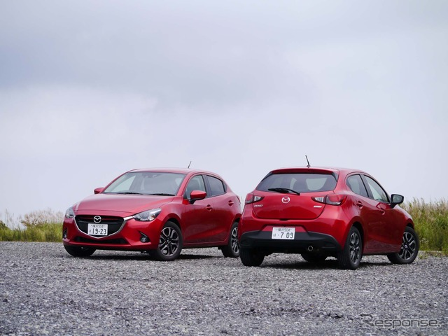 [Package touring L, Mazda Demio XD test] 4 changing the concept of a compact car charm