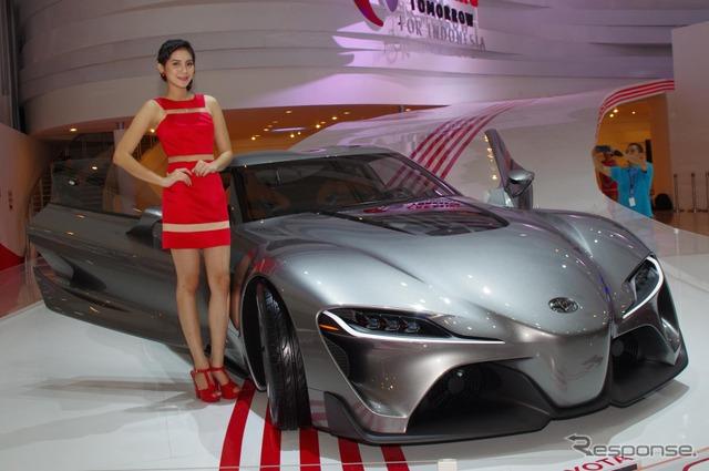 Toyota FT-1 (Jakarta Motor Show 14)